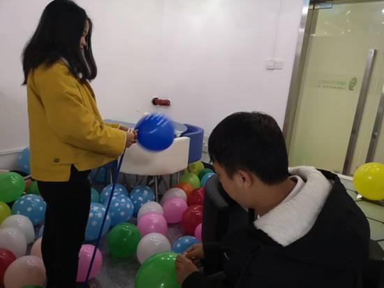 2019年峰程7080年度表彰会暨元宵晚会打气球