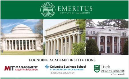 知名在线教育EMERITUS与哥伦比亚工学院合作