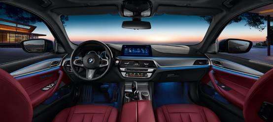 BMW 5系四门轿车的智能互联