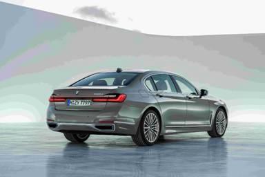 新BMW 7系尾部