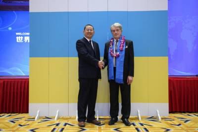赵立波与乌克兰前总统维克托尤先科