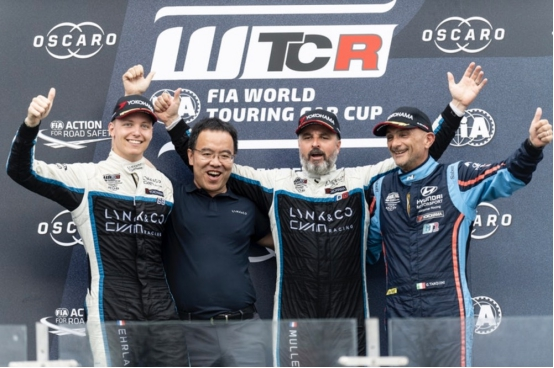 2019 WTCR宁波站领克车队两次夺冠 车队积分榜荣升第一