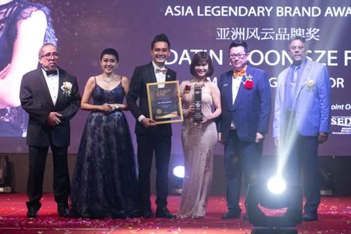 MK Curtain Bhd Datin Moon 荣获亚洲风云品牌奖